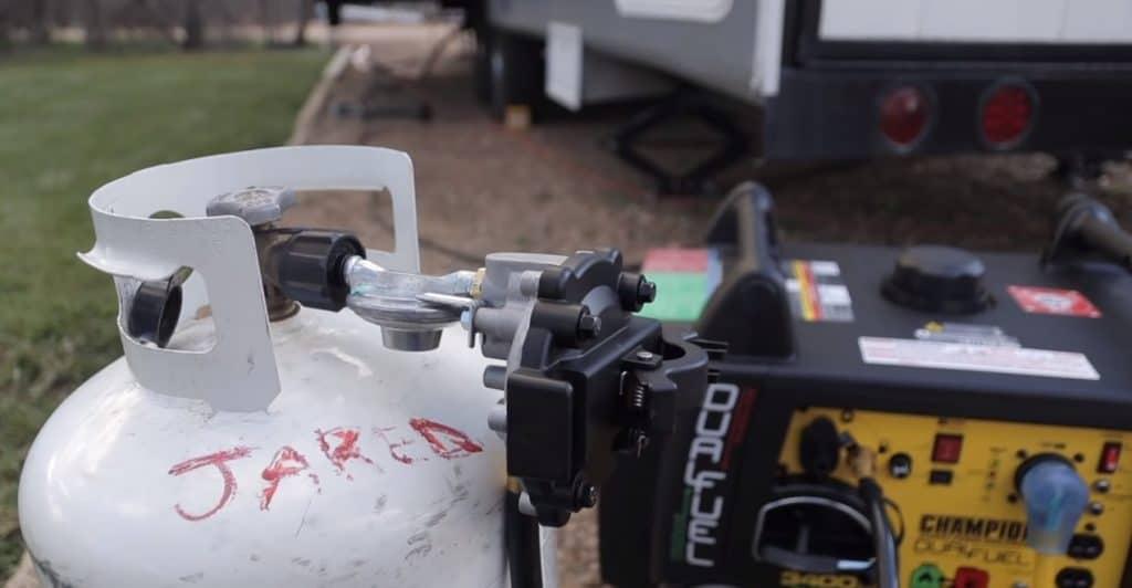 a peopane generator