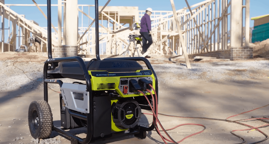 a 10000 watt generator have 9 outlets