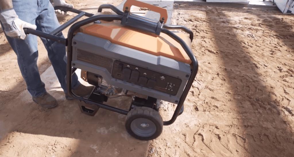 Move a generator